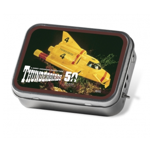 Tinamps Portable Speaker in Tin - Thunderbirds 4