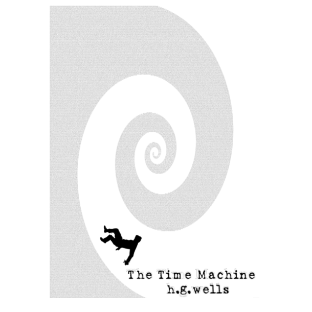 'The Time Machine' Full Book Text Poster Print