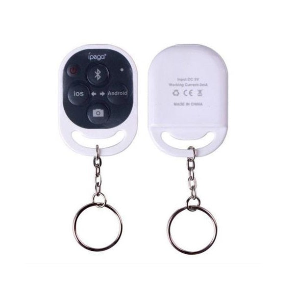 Ipega Remote Control Self Timer White Front & Back