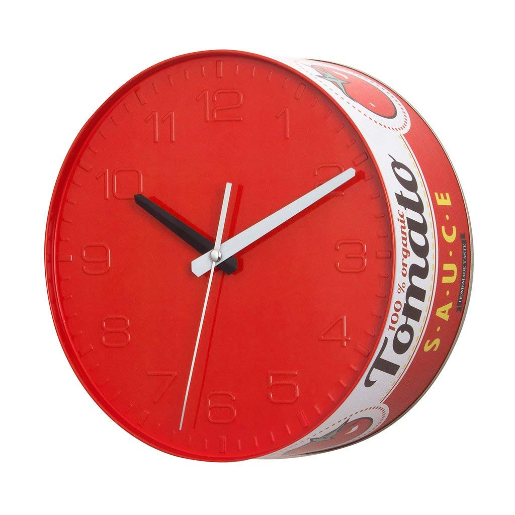 Tomato Sauce Tin Wall Clock