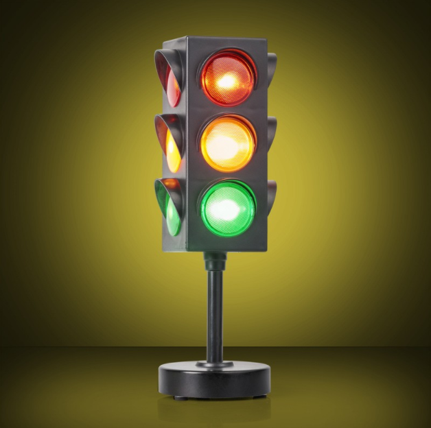 desk traffic light is a great gift for him or gadget gifts for men