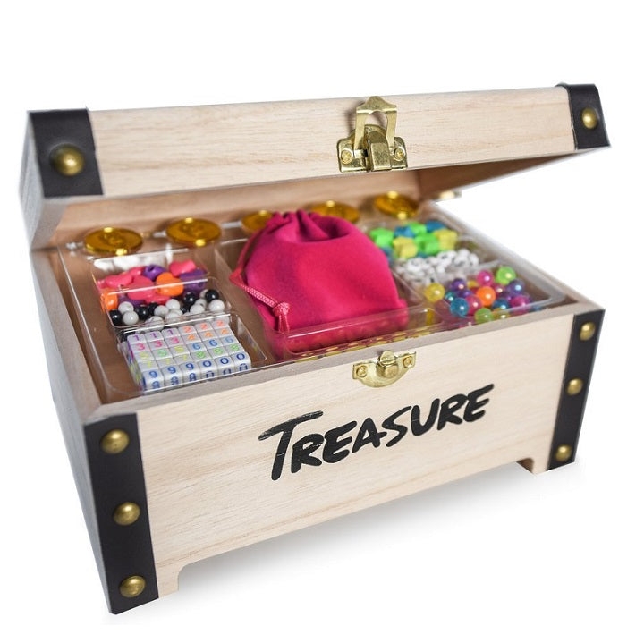 Treasure Toyz Original Treasure Chest Open Side