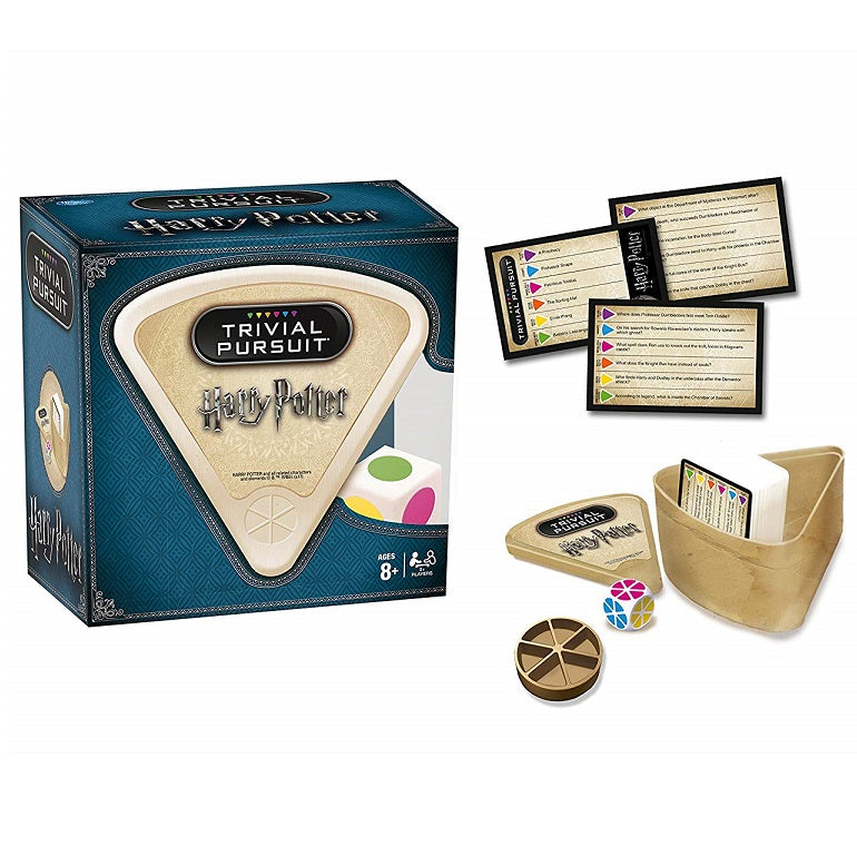 Harry Potter Trivial Pursuit Bite-Size Game Components