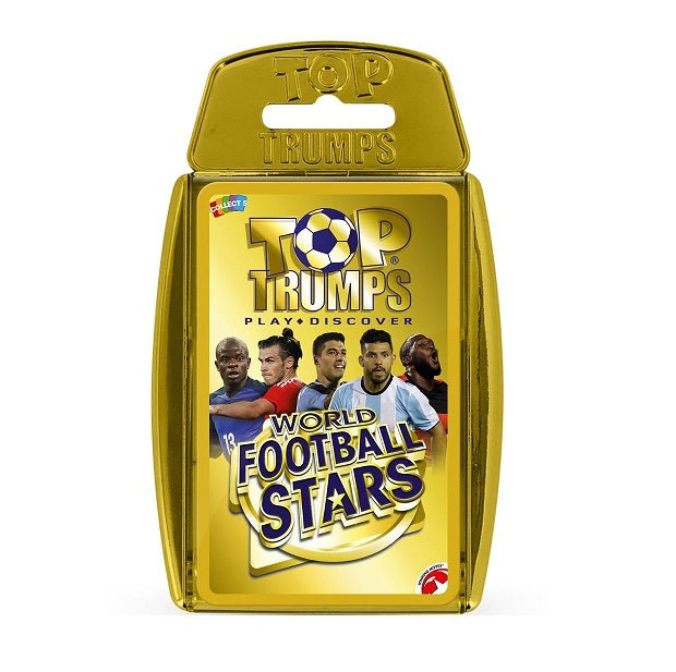 World Football Stars Top Trumps Card Game