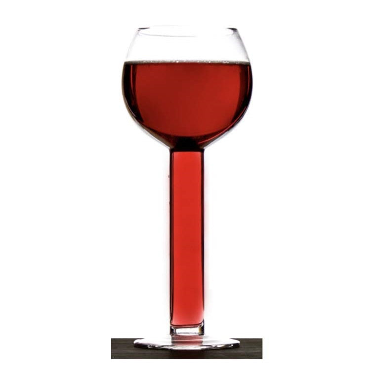 Tube Wine Glass with Hollow Stem by AddCore