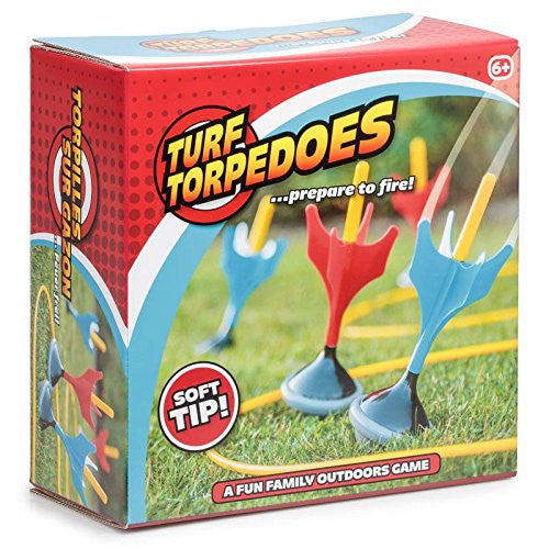 Turf Torpedoes Lawn Darts Game