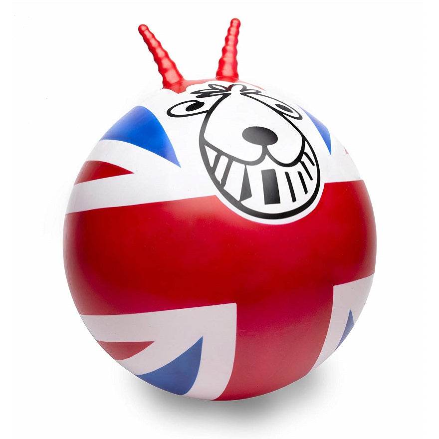 Union Jack Retro Space Hopper by Funtime Gifts