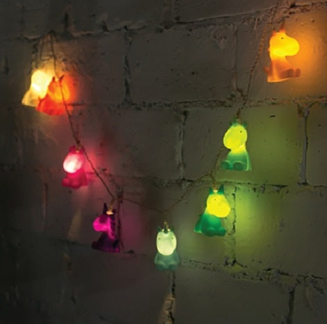 Multi Colour Unicorn LED String Lights