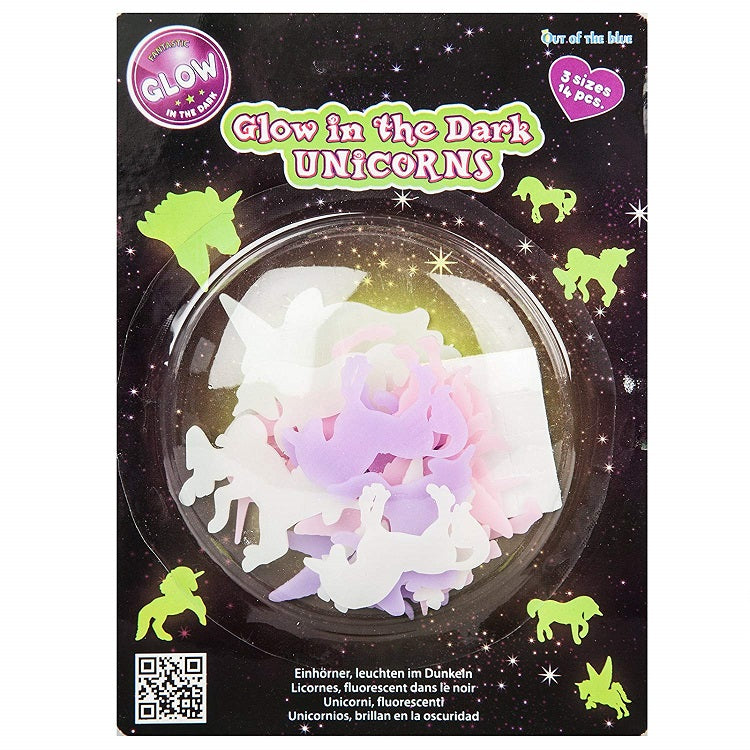 Glow In The Dark Unicorn Stickers