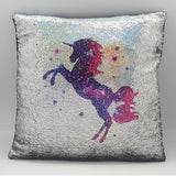 Unicorn Magical Sequin Cushion 16