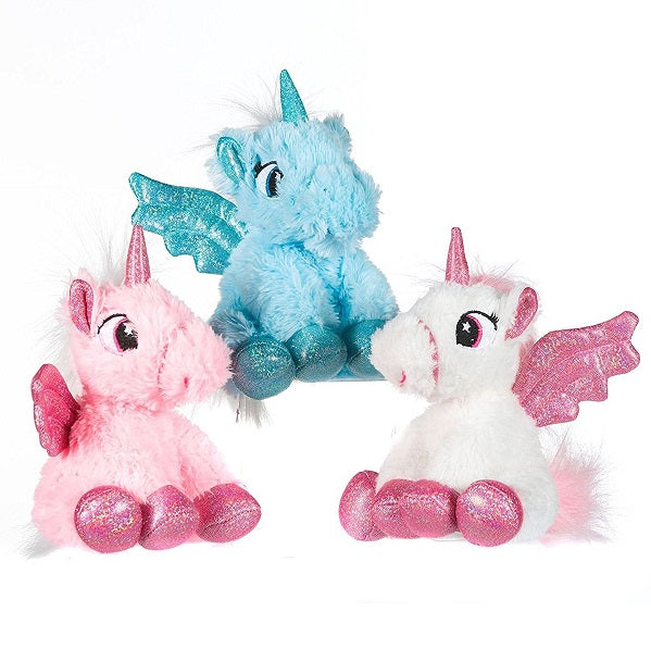 "Unicorn 6.5"" Plush Soft Toy"