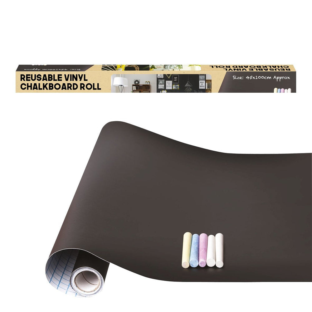 Reusable Vinyl Chalkboard Roll