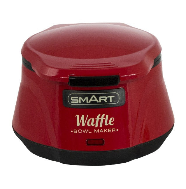 SMART Waffle Bowl Maker - Red