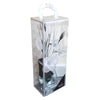 White Mesh Net Diamante Flower Arrangement in Vase