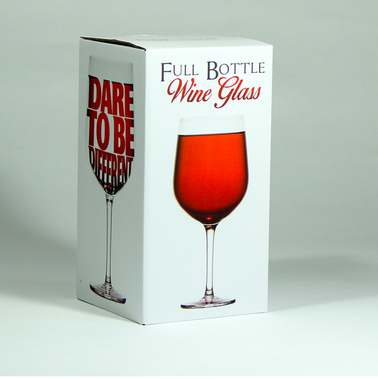 Giant Wine Glass - Full Bottle Wine Glass - Dare to be Different