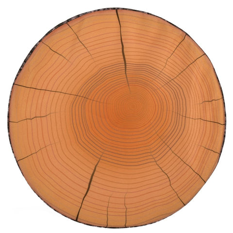 Round Seat Pad Tree Wood Stump Cushion Soft 37cm Garden Patio Decor