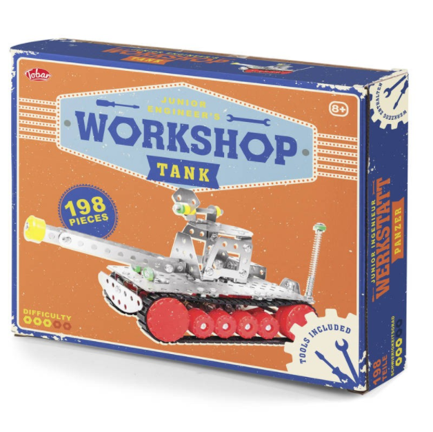 Junior Engineer's Workshop - Tank Construction Kit