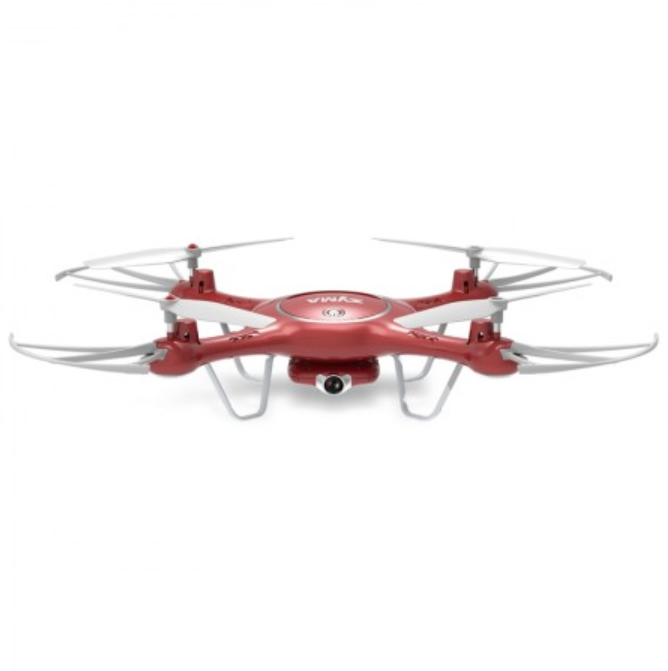 Syma X5UW Red Camera Drone