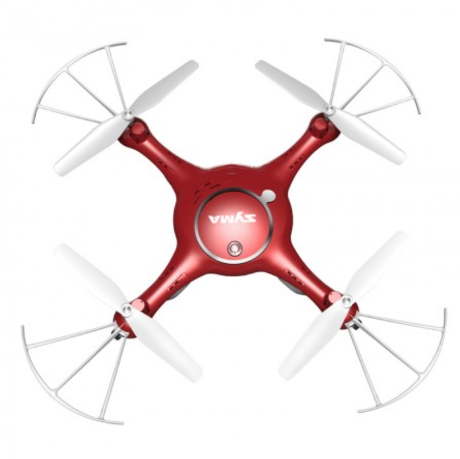 Syma X5UW Red Camera Drone by Tobar