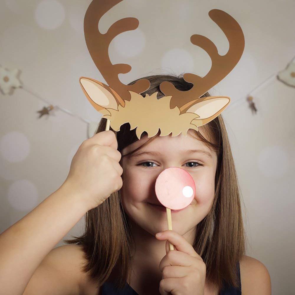 Festive Photo Booth Props by Ginger Ray Antlers