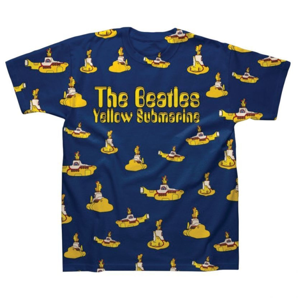 The Beatles Yellow Submarine Sublimation Men's T-Shirt