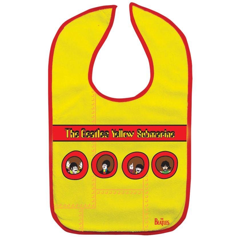 The Beatles Yellow Submarine Baby Bib