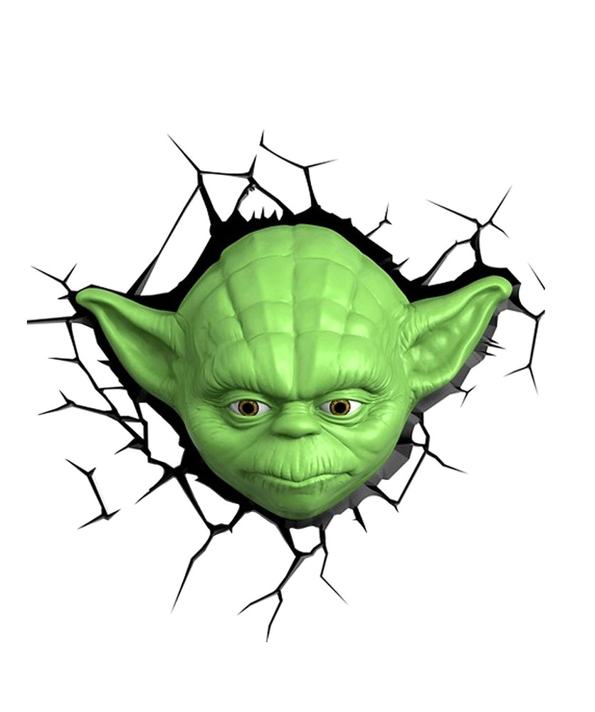 Star Wars Yoda 3D Wall Light 34.2cm