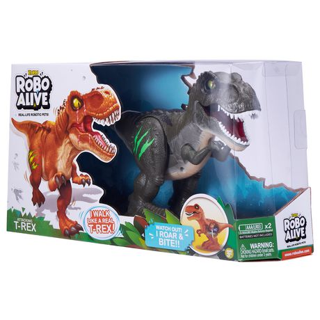 Zuzu robo alive T-Rex Dinosaur Jungle Green
