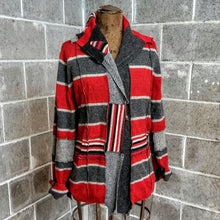 Load image into Gallery viewer, ReMade Sweater Red/Gray #1