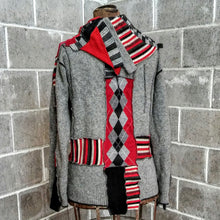 Load image into Gallery viewer, ReMade Sweater Red/Gray #2