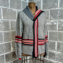 Load image into Gallery viewer, ReMade Sweater Red/Gray #3
