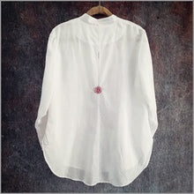 Load image into Gallery viewer, Katja Tux-Shirt with RedWork