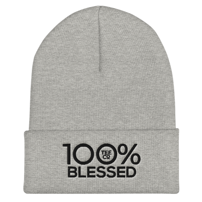 100% BLESSED Cuffed Beanie - 100 Percent Tee Company