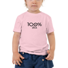 100% DIVA Toddler Short Sleeve Tee - 100 Percent Tee Company