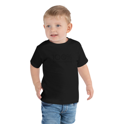 100% STABLE GENIUS Toddler Short Sleeve Tee - 100 Percent Tee Company