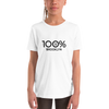 100% BROOKLYN Youth Short Sleeve Tee - 100 Percent Tee Company