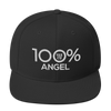100% ANGEL Snapback Hat - 100 Percent Tee Company