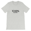 100% BLESSED Short-Sleeve Unisex Tee - 100 Percent Tee Company
