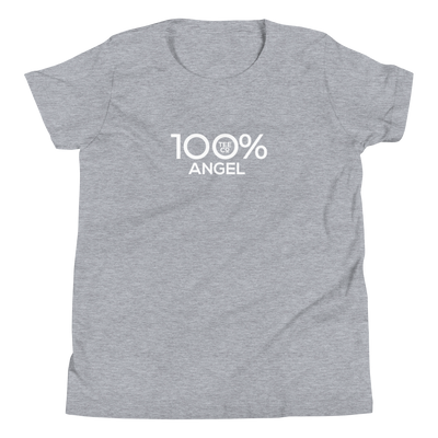 100% ANGEL Youth Short Sleeve Tee - 100 Percent Tee Company