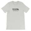 100% AWESOME Short-Sleeve Unisex Tee - 100 Percent Tee Company