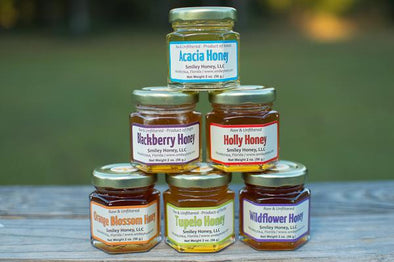 Sampler Gift Box - Smiley Honey