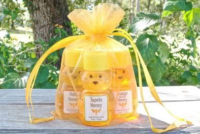 Golden Bag of Bears - Smiley Honey