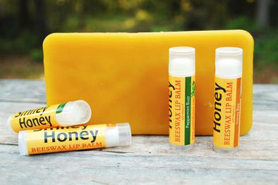 Beeswax Lip Balm - Smiley Honey