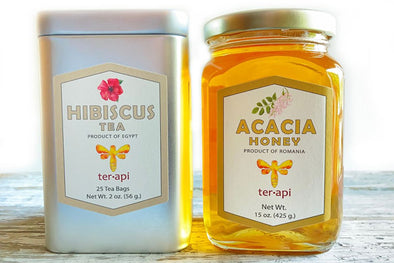 Tea and Honey Gift Box