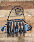Fringe Clutch Shoulder Bag - BAUDO I