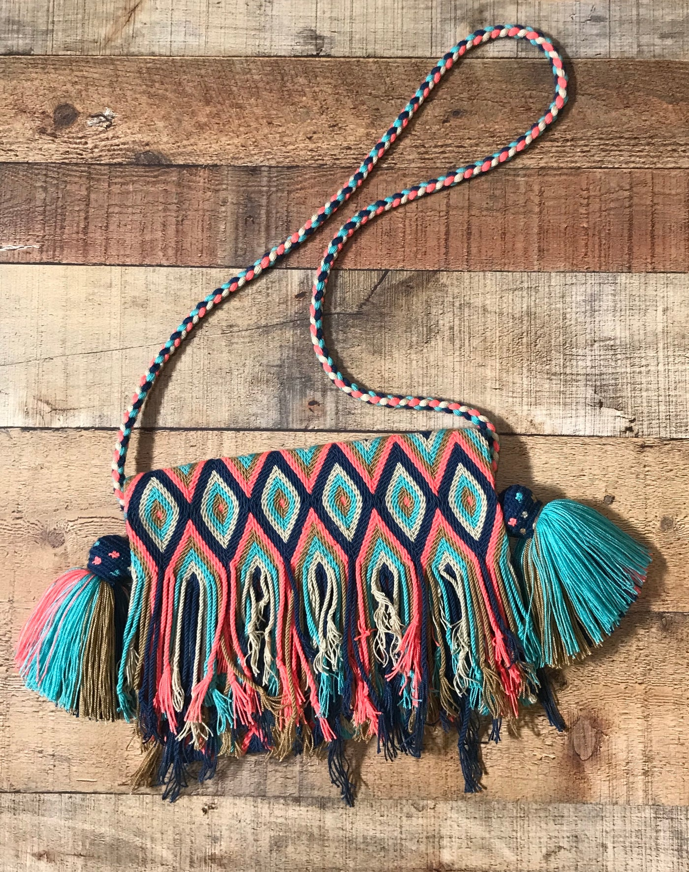 Fringe Clutch Shoulder Bag - PRIEGO