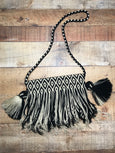 Fringe Clutch Shoulder Bag - CONDOTO