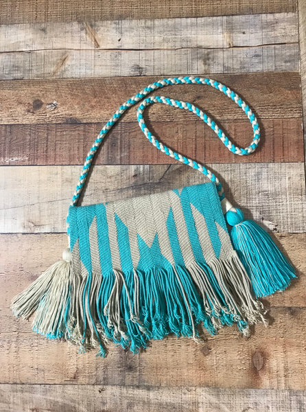 Fringe Clutch Shoulder Bag - LUQUE