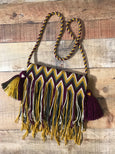 Fringe Clutch Shoulder Bag - SANTUARIO