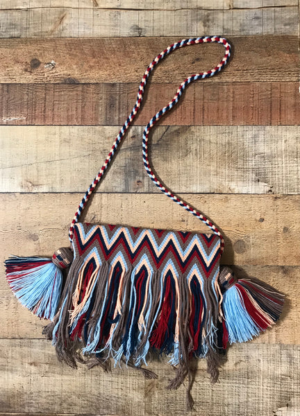 Fringe Clutch Shoulder Bag - SANTA ROSA
